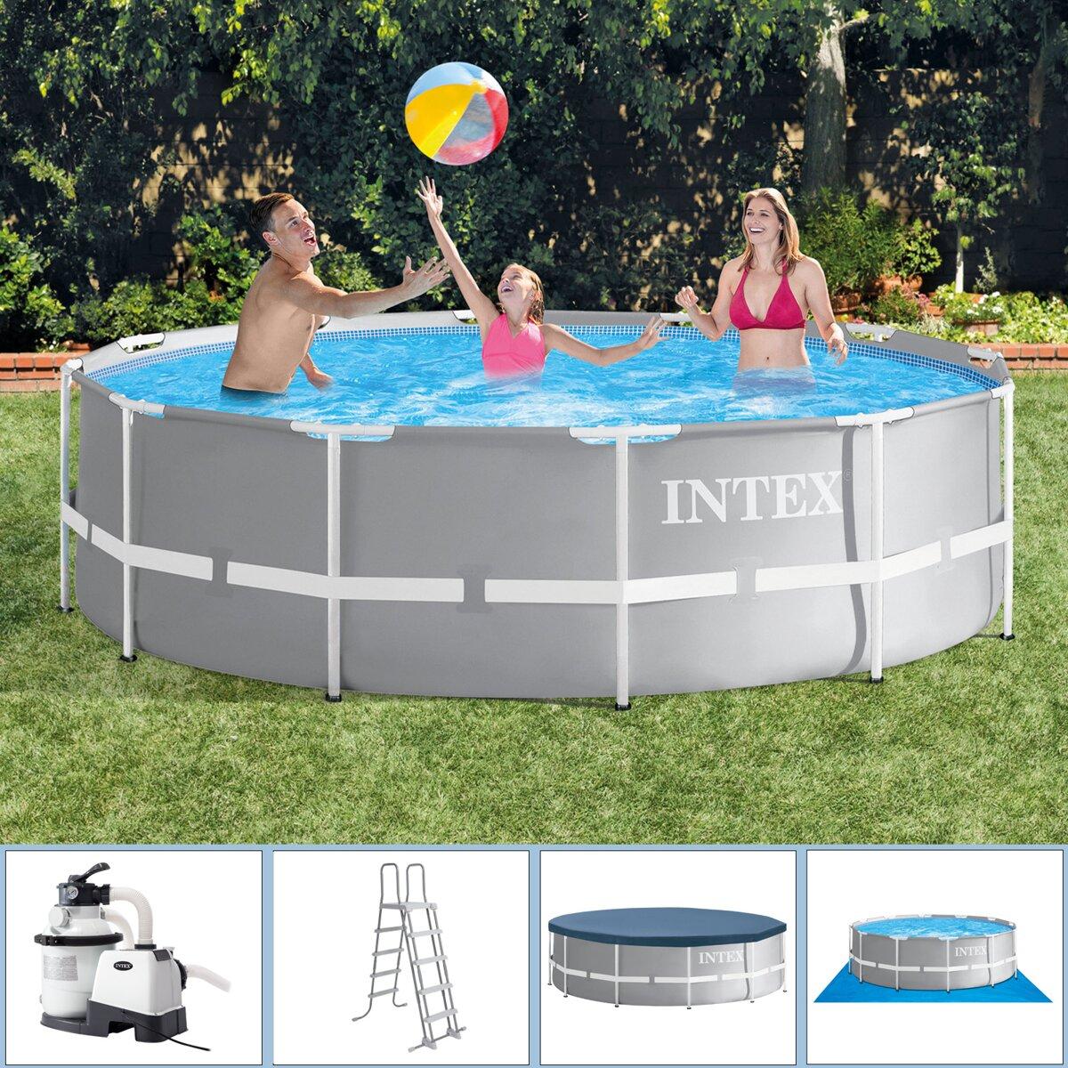 18d7c530ce Nadzemný bazén Intex Ultra Frame 427 x 107cm + piesková filtrácia