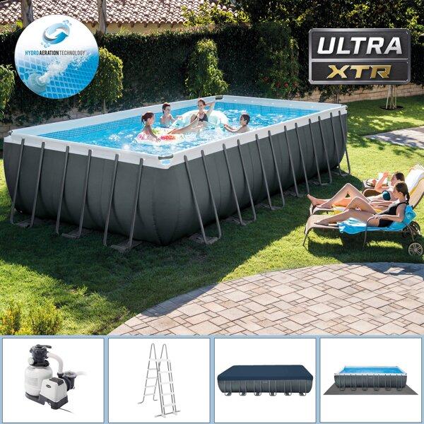 4d409985a5 Záhradné nadzemné obdĺžnikové bazény s rámovou konštrukciou.
