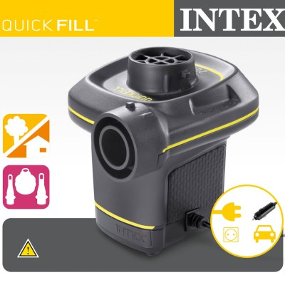 Elektrická pumpa INTEX Quick-Fill  220-240V / 12V